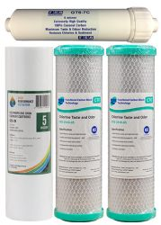 Replacement Water Filter Cartridges - Suit Lan Shan 5 Stage RO Systems (1-11-5)