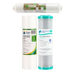 Replacement Cartridges for 4 stage R/O Water Filter (1-11)