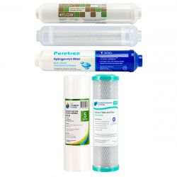 7 Stage Hydrogen Rich Reverse Osmosis Water Filter 2 Year Replacement Pack GT1-11HFIR
