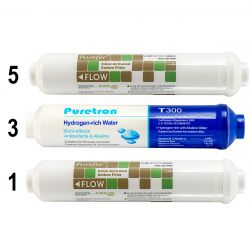 6 Stage Hydrogen Rich Reverse Osmosis Water Filter 1 Year Replacements GT1-11SH