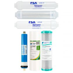 Replacement Pack for 7 Stage XstreaMn Reverse Osmosis System + Membrane 1-11XM