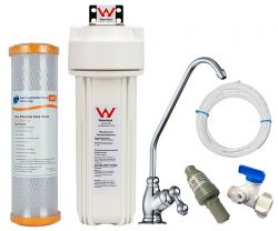 Watermark Undersink Water Filter System Bacteria Removal Deluxe Tap GT1-15UFC