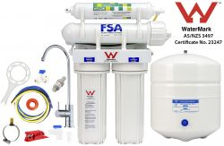 Reverse Osmosis Water Filter System   4 Stage Undersink 1-26-4