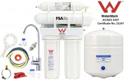 Reverse Osmosis Water Filter System   4 Stage Undersink pH Neutralising 1-26-4SCC