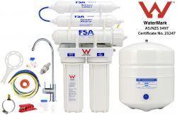 Reverse Osmosis Water Filter System 5 Stage Undersink RO Alkaline Filter GT1-26-5