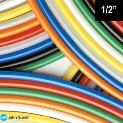 """John Guest Black Tubing for Filtration 1/2"""" PE16250E For Caravan + Camper 20-18"""