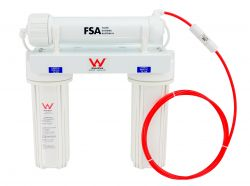 """Reverse Osmosis Water Filter 3/4"""" Laundry Wall Mount 50GPD Remove Fluoride 1-39"""