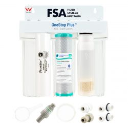 Triple Undersink Water Filter System For Coffee Machines & Hard Water (1-3TCM)