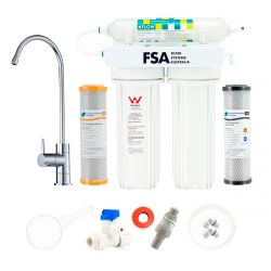 3 Stage Undersink Water Filter Bacterial Removal Rain Tank Water 1-46WUFC
