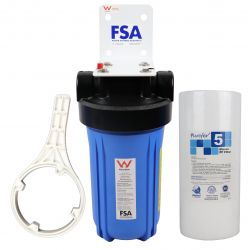 "WaterMark Single Whole House Water Filter System 10""x 4.5"""