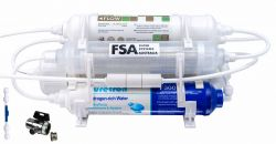 6 Stage Portable Hydrogen-Rich Reverse Osmosis Water Filter System High Alkaline