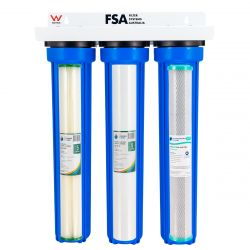 """WaterMark Triple Whole House Water Filter System 20"""" x 2.5"""" (1-80TF)"""