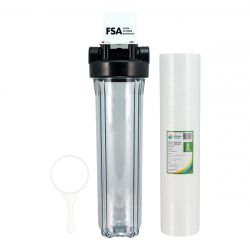 """CLEAR Whole House Water Filter System 20"""" x 4.5"""""""