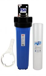 "WaterMark Single Whole House Water Filter System | 20"" x 4.5"" 
