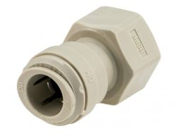 "DMFIT® Qty 1 - 1/2"" Female Tap Adaptor x 1/2"" Tube Connector John Guest Style"