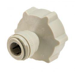 """Tap Adaptor 3/4"""" Female BSP to 3/8"""" Pushfit Tube (10-33)"""
