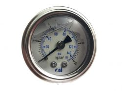 Water Pressure Gauge 40mm Back Mount  Great for Filtration Systems AG-1.5 (16-1)