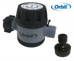 Orbit Tap Timer 96014 Single Station Mechanical 120 Minute Manual Watering 16-22