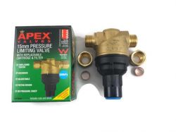 Apex 15mm Adjustable PLV 200-650 kpa Suits all of house (18-2)