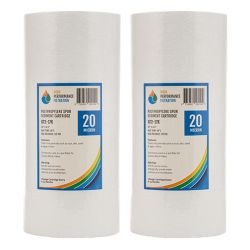 "2x Poly Spun Sediment Water Filters | 10"" x 4.5"" 