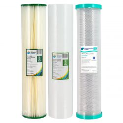 "Triple 20"" x 4.5"" Big Blue Water Filter Replacement Pack"