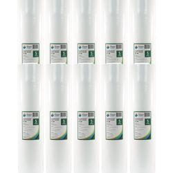 "10x BULK Polyspun Sediment Filters 5 Micron 20"" x 4.5"" (2-28K)"