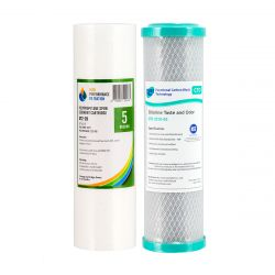 """Reverse Osmosis Water Filter 5 Micron Pre Filters 10"""" x 2.5""""  (2-2 4-7)"""