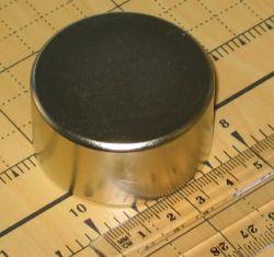SUPER MAGNET N45 Neodymium Rare Earth 50mm x 25mm x1 N107