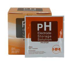 HM Digital® pH Electrode Storage Solution 20mL Potassium Chloride (KCl) 28-89-HM