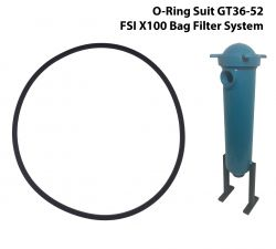 O-Ring Gasket Suit FSI X100 Convertible Bag Filter System GT36-52-OR