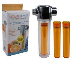 Universal ABS Plastic Vitamin Shower Filter - Long Life Vitamin C Chlorine Removal Filter GT39-16