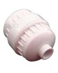 12 Stage White Plastic Shower Filter Remove Chlorine Heavy Metals + Spare Filter 39-20