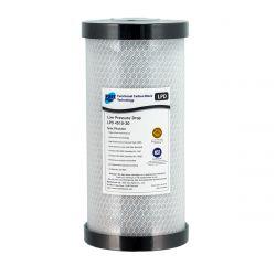"Carbon Block Water Filter Cartridge 10"" x 4.5"" Low Pressure Drop 20 Mic GT4-13LPD"