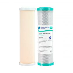 Ceramic Filter 0.5 Micron & 100% Coconut Carbon Water Filter 1 Mic 4-52 + 4-6CTO