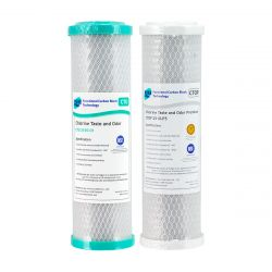 Replacement Water Filter Cartridges Dual Coconut Carbon Block GT4-6CTO GT4-4CTOP