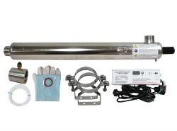 Ultraviolet Sterilisation Water Sanitation System 180L/m Commercial UV 7-15A