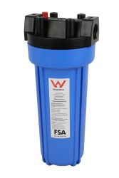 WaterMark Certified Outdoor UV Resistant Water Filter Housing | PRV 8-4G
