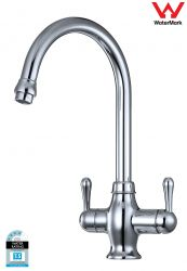 Standard Goose Neck 3 Way Mixer Tap Drinking Faucet Watermark Certified GT9-17