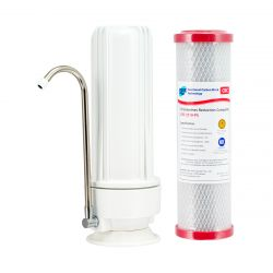 HPF Benchtop Water Filter System 0.5 Micron Chloramine Reduction Carbon H1-100CRC