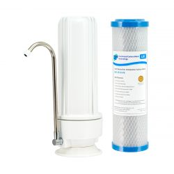 Counter Top Water Filter 0.5 Micron Heavy Metal Reduction Carbon Filter H1-100LRC