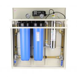 All in One Whole House Water Filter System Hybrid with UV Sanitation H1-450
