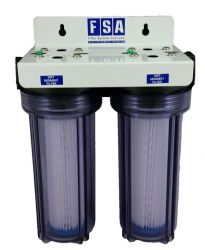Twin CLEAR Water Filter System | Brewing | Bio Fuel | Washable