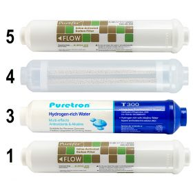 6 Stage Hydrogen Rich Reverse Osmosis Water Filter 2 Year Replacements GT1-11SHF