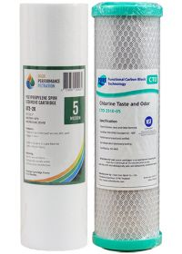 "Reverse Osmosis Water Filter 5 Micron Pre Filters 10"" x 2.5"""
