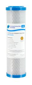 """Carbon Block Water Filter 10"""" x 2.5"""" Heavy Metal Lead Reduction 0.5 Micron (4-3LRC)"""